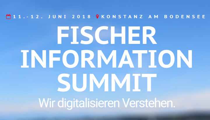 FISCHER INFORMATION SUMMIT 2018